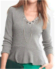 Wool/Cashmere Knitting Sweater for Women (047H8201)