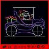 Luzes decorativas do Natal claro do diodo emissor de luz Sanat do feriado para o mercado super