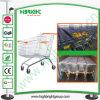 180 Liter verzinkte Supermarkt-Laufkatze-Karren-