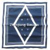 주문을 받아서 만들어진 로고는 파랑 하나 색깔에 의하여 인쇄된 면 선전용 맨 위 밴대나를 인쇄했다