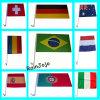 Les différents pays imprimé drapeau de voiture