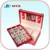 Luxuxförderung-hölzerner hölzerner Verpackungs-Schmucksache-Kasten