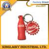 Promotion (KC-1)를 위한 Bottle 주문을 받아서 만들어진 Shape PVC Key Ring