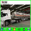 Tri árbol 45000 litros de aluminio de la aleación del petróleo del tanque de acoplado diesel semi