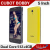 Android4.2.2 Mtk6572W, Cortexa7dualcore, 1.3GHz Model Cubot Bobby Cell Phone