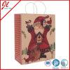 Sacs cadeau de Noël Kraft avec poignée torsadée