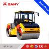 Compactor ролика дороги Sany Str100-6 двойным Steelself-Ый барабанчиком Vibratory