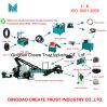 2017 venta caliente llantas de desecho que recicla la máquina (CE & ISO9001)