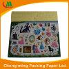 Casella di carta ondulata decorativa pieghevole all'ingrosso per il giocattolo del bambino
