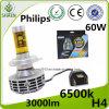 La mejor linterna de la viga 60W G6 LED de Philips H4 H/L de la venta