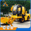 De mobiele Vrachtwagen van de Concrete die Mixer in China wordt gemaakt