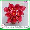 도매를 위한 PU에 있는 인공적인 칼라 백합 대중적인 꽃을 주문을 받아서 만드십시오