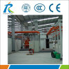 電気給湯装置のエナメルタンク処理のためのサンドブラスト装置