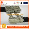 Ddsafety Kurbelgehäuse-Belüftung 2017 punktierte Segeltuch-Baumwollindustrielle Sicherheits-Handschuhe