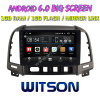 Witson 9 на большой экран Android 6.0 DVD для автомобилей Hyundai Santa Fe (2007-2012)