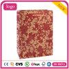 Sac de papier de fleur de mode de configuration de cadeau rouge de Papier d'emballage