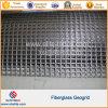 De Glasvezel Geogrids van de Bestrating van het asfalt voor de Stichting van de Baan van Aiport van de Dam