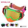 Pasvorm over Glazen van de Motocross van de Kleur van Eyewear van de Motorfiets de Oranje Beschermende