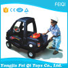 Carros plásticos do brinquedo dos miúdos baratos da segurança com 4 rodas