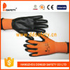 Ddsafety 2017 Orange Gant de PU de chemise