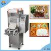 Industrial vertical automático de comida Box Bandejas Copa sellador de cierre rápido de la máquina de embalaje