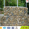 Muro de contención de piedra, cestas de Gabion