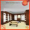 La conception personnalisée moderne en bois Présentoirs de chaussures au détail