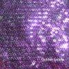 반짝이 자수 직물 가득 차있는 패턴 2 측 색깔 수용성 기술 (JPX1123)