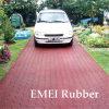 Waterdichte Rubber Flooring voor Parkeerplaats