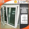 Ventana de Madera estilo australiano con aluminio, ventana de madera sólida con el revestimiento de aluminio exterior