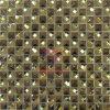Mezcla de cristal brillante acero Inoxidable o la decoración de mosaico Mosaico (CFM808)