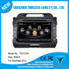 GPS A8 Chipset RDS Bt 3G/WiFi DSP Radio 20 Dics Momery (TID-C325)構築ののKIA Sportage 2014年のための車DVD