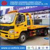 Vrachtwagen van het Slepen van het Voertuig 5tons van de Terugwinning van de Weg van Foton Flatbed voor Verkoop