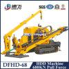 Dfhd-68 680кн силу увода горизонтальные сверлильные машины для трубки подачи воды
