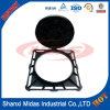 Ferro fundido dúctil EN124 C250 Manhole Cover