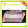 Cartes de visite professionnelle de visite transparentes de PVC de blanc de conception spéciale