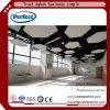 El panel de techo decorativo suspendido fibra mineral acústica