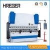 dobradeira CNC hidráulica dobradeira de placa de aço inoxidável