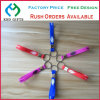 Modifica chiave di gomma personalizzata, regali promozionali di promozione della catena chiave del silicone