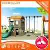 Équipement de terrain de jeu de jeu extérieur de la maternelle Diapositive Swing