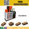 Mini machine de fabrication de brique de Fd1-25 Eco Brava