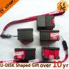 Movimentação do flash do USB do recipiente do presente de Customerized (YT-SC)