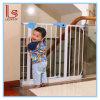 La cerca automática de la escalera de la barandilla de la cerca de la puerta de la seguridad del bebé del niño protege