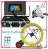 système d'inspection imperméable à l'eau de drain de pipe d'appareil-photo de tube d'égout de 80-160m
