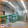 Reciclagem de Óleo de Motor Usado preto Máquina para obter o combustível diesel da fábrica de reciclagem de Óleo de Motor Usado