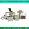 Machine de fabrication de brique hydraulique automatique de la machine à paver Qt4-18