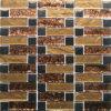 Mozaïek van het Glas van de Folie van het Bouwmateriaal het Gouden (VMW3309)