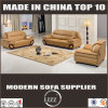 Mobiliário de sala de estar Conjunto de sofá de couro moderno com design de lazer
