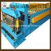 Tuile de toit glacée en métal faisant le roulis en acier de profil formant la machine