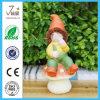 Ofício Handmade de Figurinepolyresin do Gnome da decoração do jardim de Polyresin